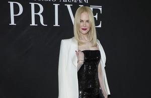 一周热人家的52岁 妮可·基德曼优雅、高贵