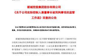新城控股回应原董事长王振华猥亵女童案:已辞去所有职务