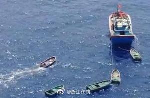 载30多人渔船南沙海域遇险 最新进展:船上32人全获救