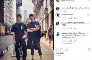 """12日娱乐精选:陈坤晒与17岁儿子合照 两人""""兄弟""""相称感情深厚"""