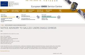 """伽利略导航系统""""挂""""了,24颗卫星全崩溃"""