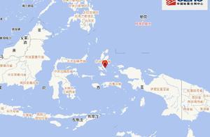 印尼哈马黑拉岛发生7.1级地震 震源深度10千米