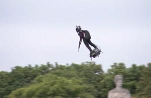 """真人版""""钢铁侠""""亮相法国国庆阅兵仪式,未来可能用于特种部队"""