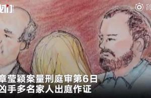 章莹颖案被告放弃自辩 凶手多名家人出庭作证