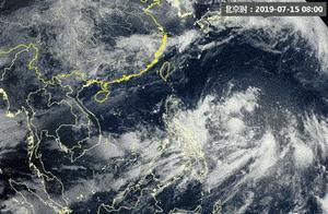 第5号台风丹娜丝生成:今日入东海 广东台湾有中到大雨