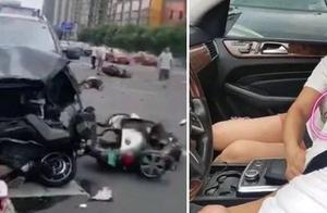 奔驰连撞多车致3死10伤原因:司机开车途中突发晕厥!更可怕的是…
