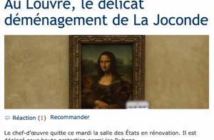 """游客太多压力大,蒙娜丽莎要搬家:卢浮宫""""微笑女神""""去了哪?"""