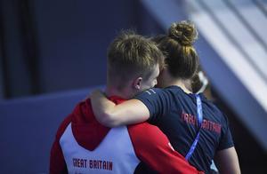 游泳世锦赛 最后一跳超级失误,英国名将拉夫尔无缘世锦赛冠军