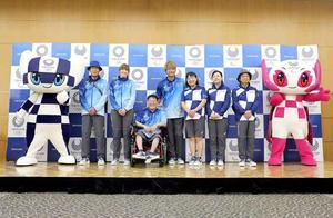 东京2020年奥运会工作人员和志愿者制服与公众见面