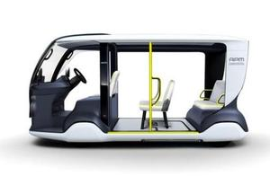 丰田展示用于东京 2020 奥运会的电动接驳车