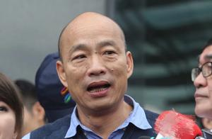 只待17分钟喝一杯白开水,韩国瑜回应雨灾时参加活动争议