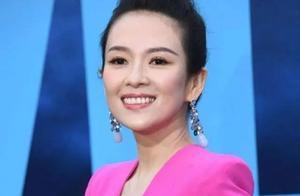 章子怡桃红裙亮相首映礼,此时在家带孩子的汪峰坐不住了。。。