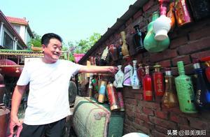 """濮�男子�V迷收藏酒瓶,集�R整套""""水�G一百�伟��"""""""