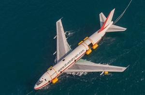 世界最大人工潜水乐园来了,先沉一架747看看