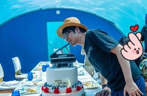郎朗婚后迎来首个生日,妻子家人出镜,为他在海底餐厅庆生超壮观