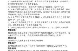 银监局168页公布40家银行140款民营小微企业信贷产品(二)