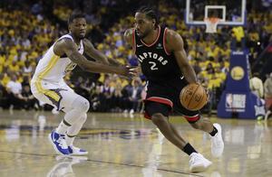 NBA总冠军 雷纳德今年季后赛第13场飙破30分 历史第2多