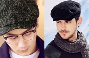 谁说冬天只有羽绒服,这3款帽子让你帅出新高度
