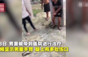 被冤枉偷钱,10岁留守男孩被绑石柱遭村民鞭打,打人者已被控制