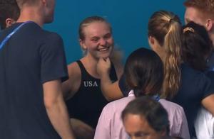 光州游泳世锦赛最新奖牌榜,跳水馆一片欢腾,美国人笑开了花