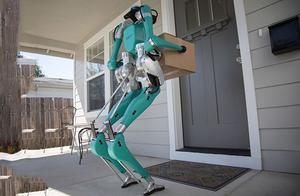 让无人驾驶和人形机器人合作!福特搅局无人送货