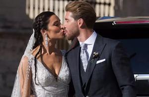 「球已出界」拉莫斯婚礼众星齐聚,不见C罗?