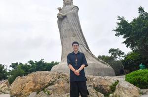 著名歌手林依轮来莆田湄洲岛祭拜妈祖啦,你偶遇到了吗?