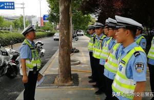 交警五大队开展严管示范区域交通违法行为专项整治