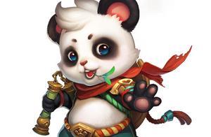 """中国首个大熊猫国际形象出炉,网友看后不经""""噗""""的笑出声"""