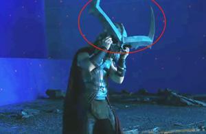 当漫威复仇者没了特效,雷神头顶牛角,原来真有小树人道具?