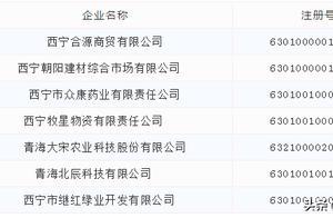 """西宁发布""""红黑榜""""企业名单!654家企业上""""黑榜"""""""