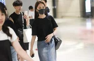 杨丞琳被求婚后首现身,怎么可以穿的如此辣眼睛