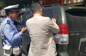 哈尔滨交警部门持续严查交通违法行为,机动车不避让行人,被罚100元记3分
