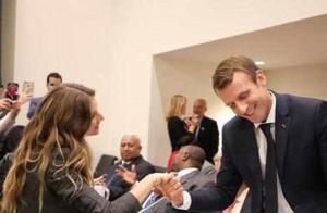 各国领导人遇美女:马克龙握手害羞,普京亲密拥抱,安倍则?