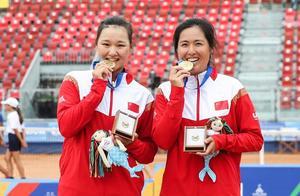 中国网球女双大运会摘金,18年后,重现昔日辉煌