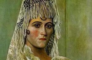 毕加索和他的第一任妻子,掩盖不住的渣男本质。
