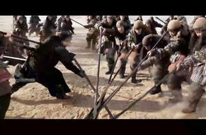 山营长率领7名骑士奇袭太平军炮兵阵地!一刀下去竟然砍断6条人腿