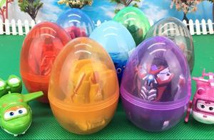 超级飞侠拆奥特曼变形蛋 海底总动员奇趣蛋