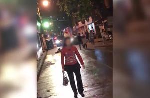 【湖北】男子醉倒街头无人扶 下一秒遭过路女司机碾压致死
