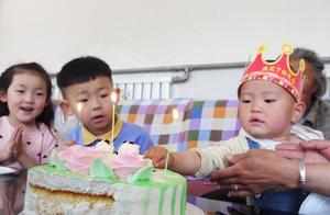 农村阿凯:520,小臭臭两周岁生日,一家人真幸福!