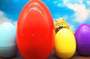 熊出没熊二分享彩蛋 巨大玩具蛋