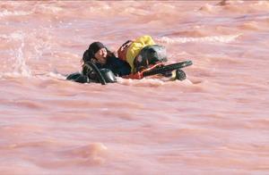 无人区融雪性洪水开始泛滥,旅行者深陷其中危在旦夕