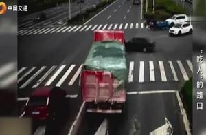 重大交通事故案例,血淋淋的教训,看着都吓人!