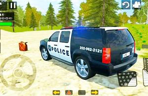 奇趣驾驶警车闯关跑酷小游戏