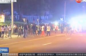 法警开枪射杀21岁黑人,随后美国街头上演暴力冲突,警察惨了!