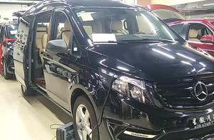 奔驰威霆,最大牌的高性价比高端MPV,7座宜家宜商