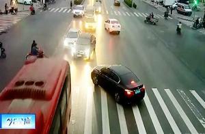 5月23日河北真实交通事故现场:司机一波波神操作实在让人看不懂