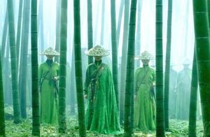 十面埋伏:经典,这段竹林大战完美诠释了什么叫十面埋伏