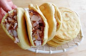 吃肉夹馍还是要正宗火烧馍,从发面倒卤肉详细制作,美味又放心