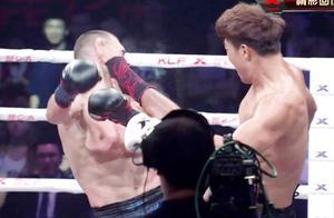 欧洲名将铁布衫随便打不后退,一龙高徒铁拳对攻连环踢大获全胜